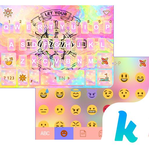 Helm Kika Emoji Keyboard Theme
