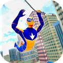 Spider Hero Gangster Game - Crime City Rope Hero icon