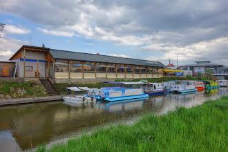 Photo: přístav u Starého Města, před Uherským Hradištěm na konci plavebního kanálu