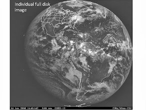 Photo: such visible-imagery full-disk images are available every 3 hr or more often from geostationary satellites