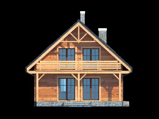 Bartne drewniane 6 - Elewacja lewa