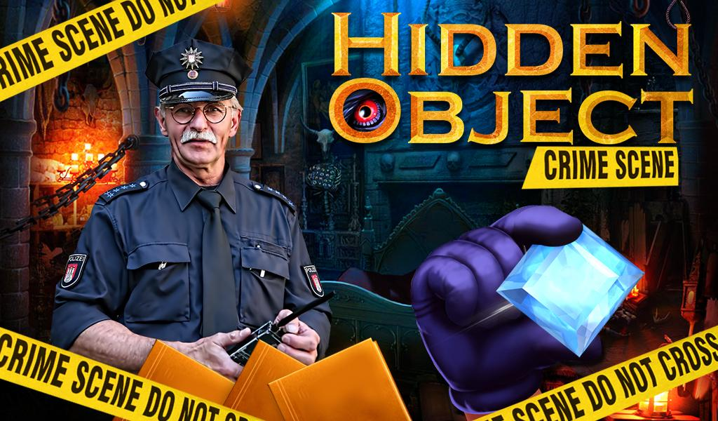 Hidden Object Crime Scene- screenshot