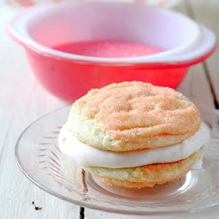 Pink Lemonade Ice Cream Sandwiches