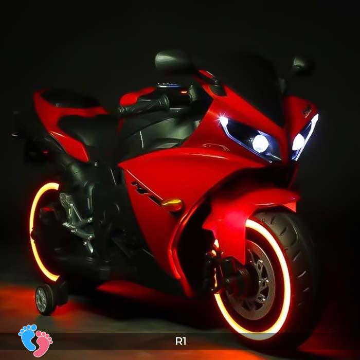 Xe mô tô điện thể thao cho trẻ R1 18