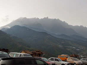 Photo: Kundasang - small town on the east side of the mountine
