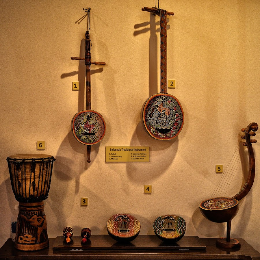 INDONESIA TRADITIONAL INSTRUMENT by Tran Ngoc Phuc Ngoctiendesign - Artistic Objects Musical Instruments
