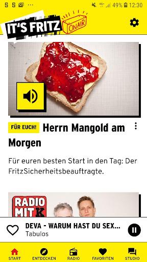 Radio Fritz  screenshots 1