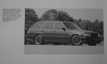 Photo: Scan from AMG Technical Guide.  Picture from when she was First done.  Updates were completed by Hartmut @ RENNtech in 1992.
