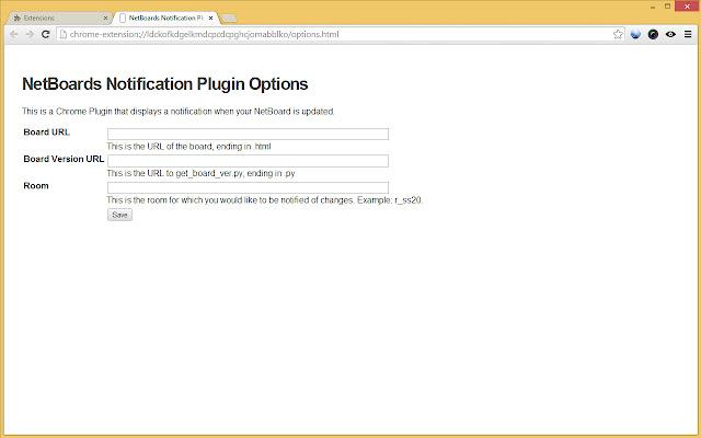NetBoards Notification Plugin