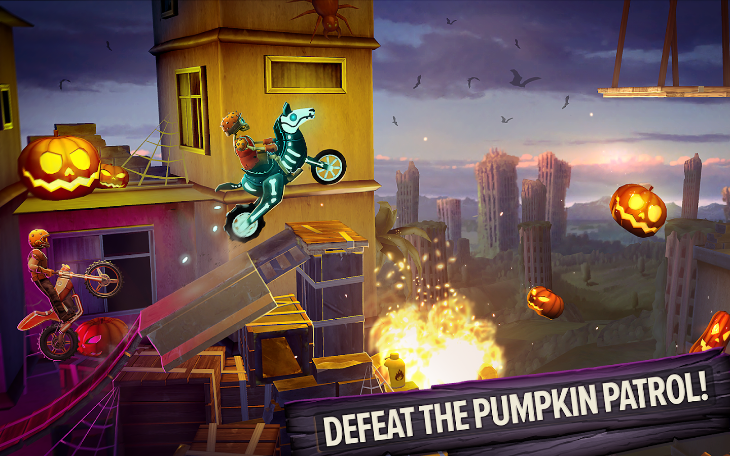 Trials frontier casino rooftops unlock