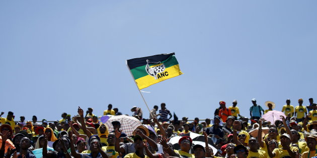 ANC supportes. Picture: REUTERS