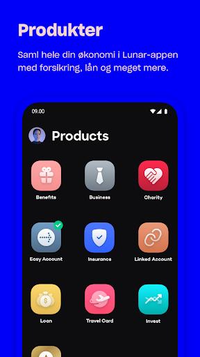 Lunar - Bank app  screenshots 5