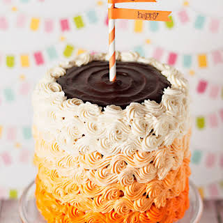 Orange Cream Cake.
