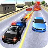 Street Car Chase - Traffic Shooter