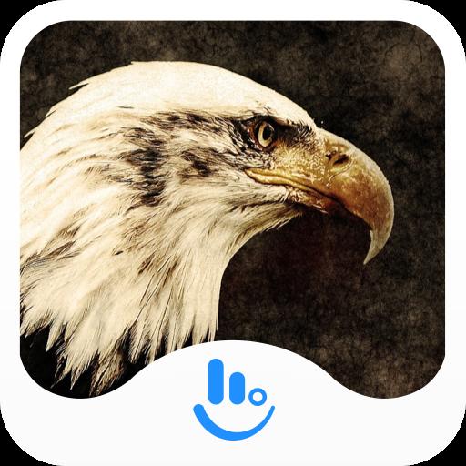 Eagle Flying High Keyboard Theme