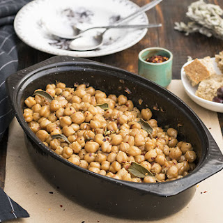 Greek Traditional Baked Chickpeas (Revithada) Recipe