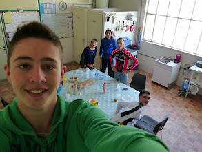 Photo: Selfie  panoramique.