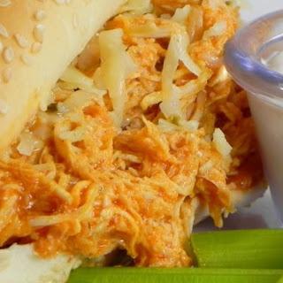 Slow Cooker Buffalo Chicken Sandwiches Recipe