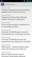 Screenshot of iSheffield