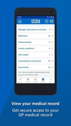 NHS App screenshot 5