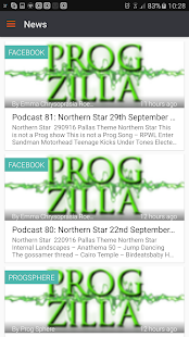 Progzilla Radio- screenshot thumbnail