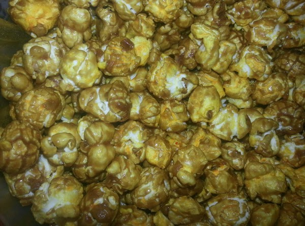 Crazy Corn! (cheesy Caramel Popcorn) Recipe