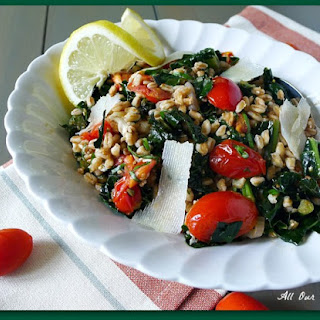 Warm Tuscan Farro Salad