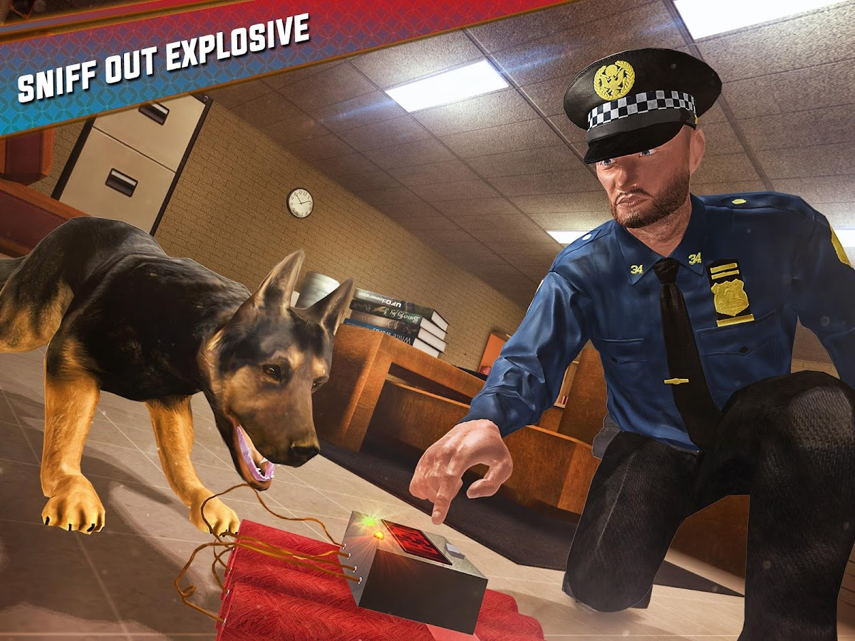 High School Police Hero Dog- screenshot