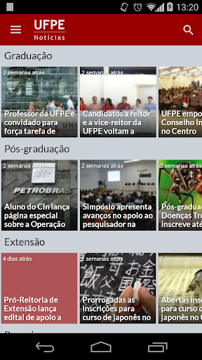 UFPE Notícias
