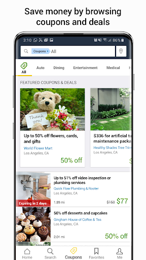 YP - The Real Yellow Pages 7.5.0 screenshots 4