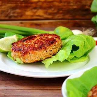Mighty Thai Turkey Burgers.