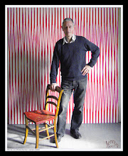 Photo: Werner von Mutzenbecher in seinem Atelier in Basel