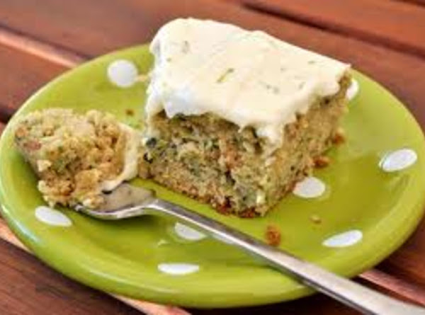 Lime And Zucchini Squares Recipe