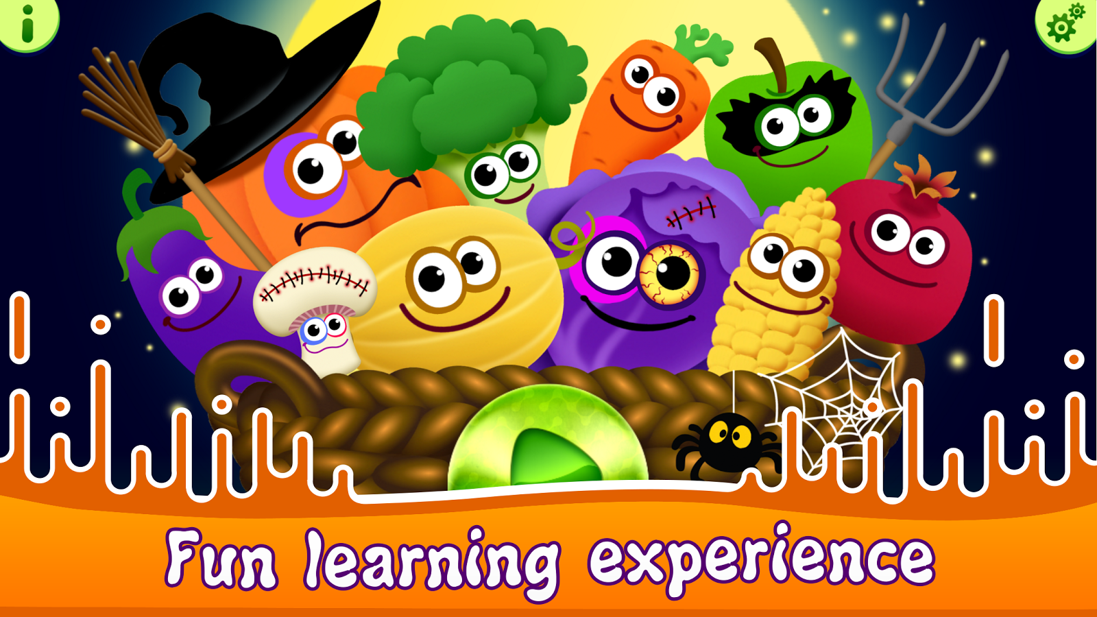 Funny Food! Educational Games for Toddlers!- screenshot
