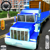 Modern Delivery Truck 3D : Heavy Duty Transporter
