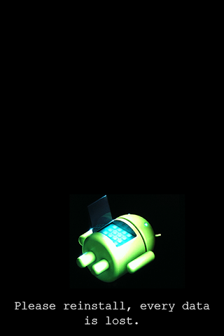 android System Error for Android Prank Screenshot 2