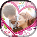 Valentine Frame Live Wallpaper icon