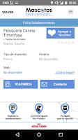 Screenshot of Mascotas Bienvenidas