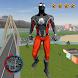 Grand Amazing BlacK Spider Rope Hero City Rescue