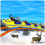 Amazing Water Park Roller Coaster Simulator 3D Icon