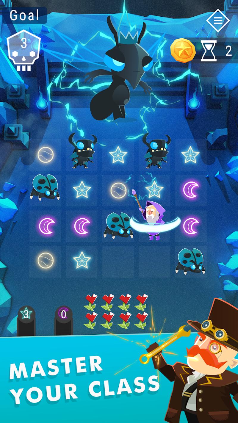Starbeard - Intergalactic Roguelike puzzle game Screenshot 2