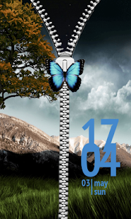 Free Buttefly Zipper Lock APK for Android