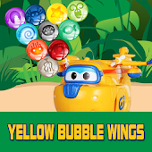Yellow Bubble Wings