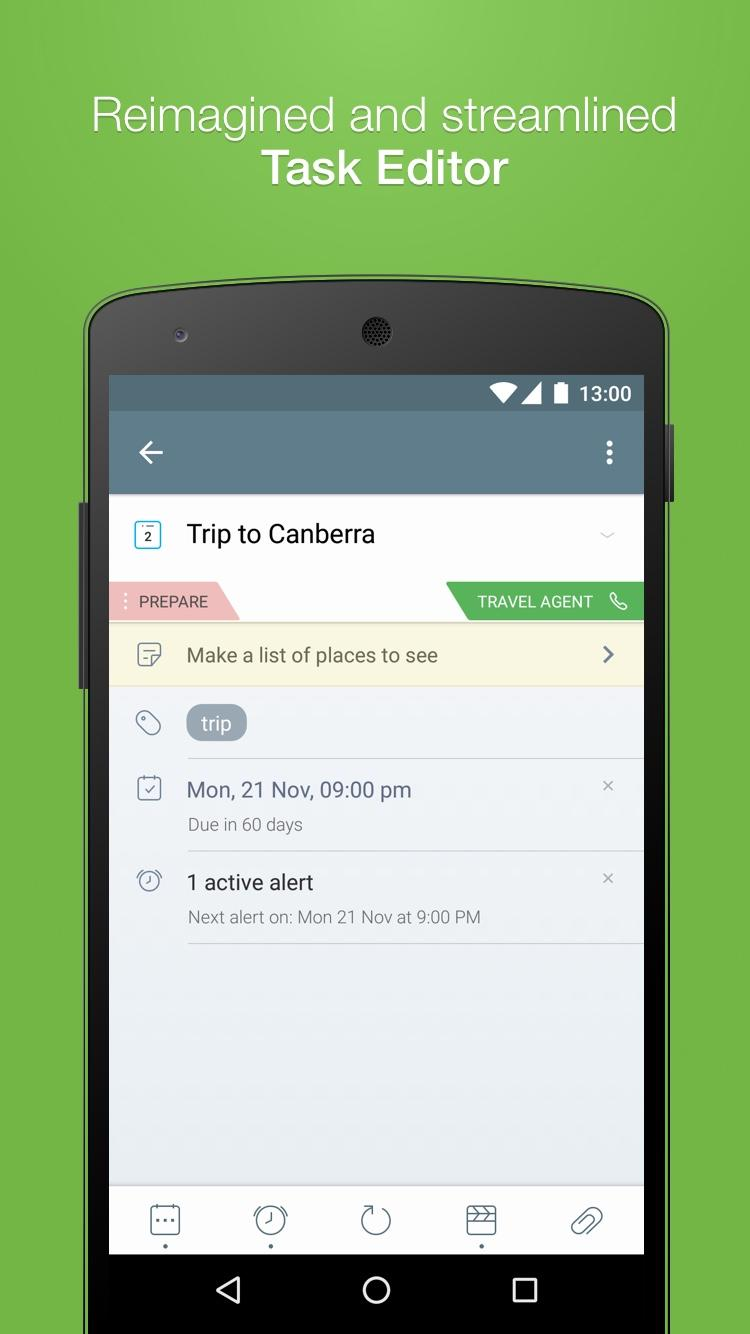 2Do - Reminders, To-do List & Notes Screenshot 1