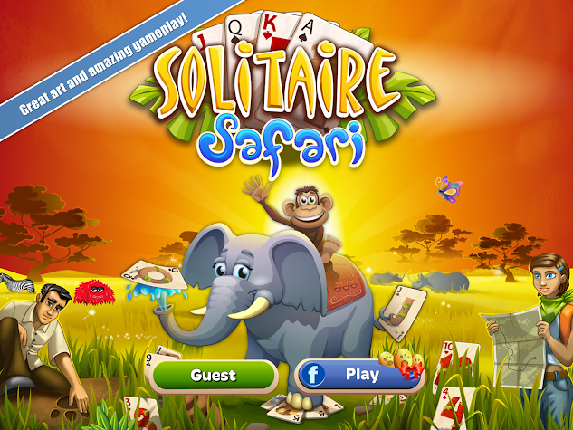 Solitaire Safari Screenshot