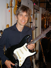 Photo: Eric Johnson at South Austin Music with my Strat.