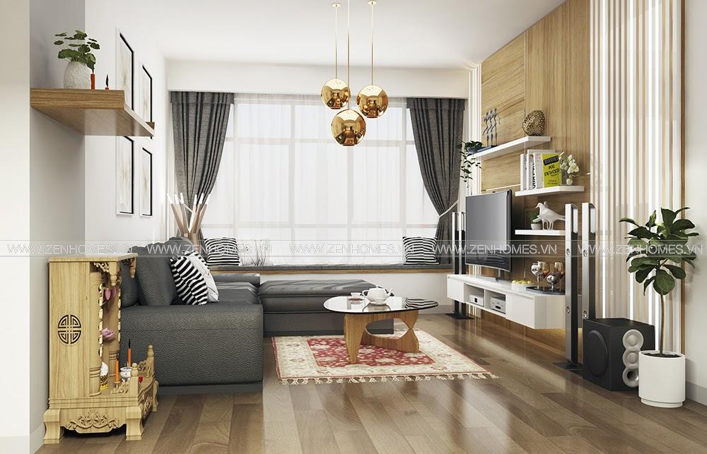 Thiết kế căn hộ chung cư Ngọc Phương Nam