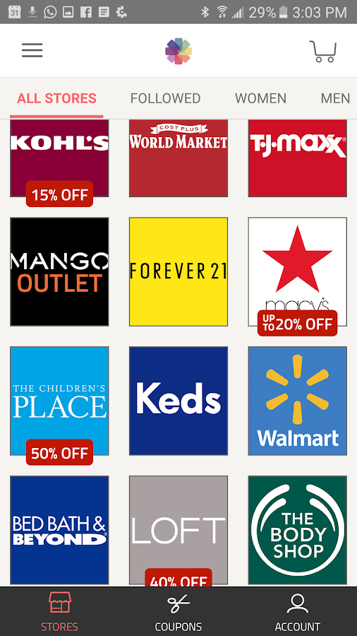 Wondermall Shopping- screenshot