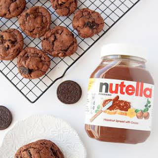 Nutella + Oreo Cookies.