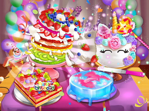 Birthday Cake Design Party - Bake, Decorate & Eat! 1.2 screenshots 9